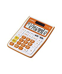 Casio MJ-12VC Electronic Calculator(Orange)