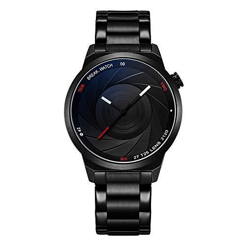 Break orologi di moda unici uomo donna unisex serie di fotografi di design orologio impermeabile analogico in acciaio inossidabile