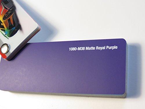 3M Scotchprint Wrap Film Series 1080 Matt Royal Purple Lila gegossene Autofolie 100 x 152 cm Zuschnitt