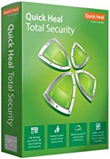 Quick Heal Total Security Latest Version -  5 PCs, 1 Year (DVD)