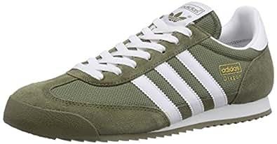 adidas  Dragon, Sneakers Basses homme - Vert - vert, 40 2/3 EU