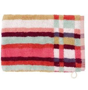 Kenzo Handtücher - Waschhandschuh Rosalie - Masse: 16x22 cm Material: 100% Baumwolle, Jacquard Farbe: Bunt Waschhandschuh Waschlappen (Jacquard-waschlappen)