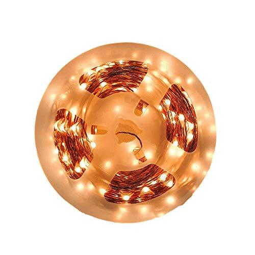 Flamingueo LED Fotoclips Lichterkette - 200 LED 20 M 30 Holzklammern, Weihnachtsbeleuchtung, LED Lichter Raum 200 LED 20 Meter, LED Lichterkette für Fotopolaroid, Lichterkette Innen, Raumdeko -