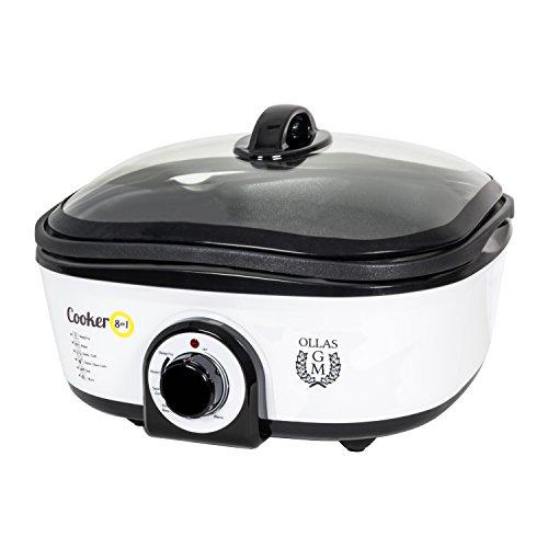 Olla eléctrica de cocción lenta de 5 litros de capacidad, Cooker 8...