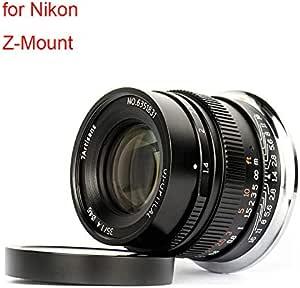 7artisans 35mm F1 4 Full Frame Fixed Lens For Nikon Kamera