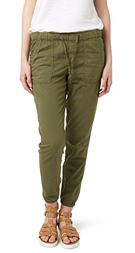 Tom Tailor Denim für Frauen pants / trousers Cargo Relaxed trendy olive green