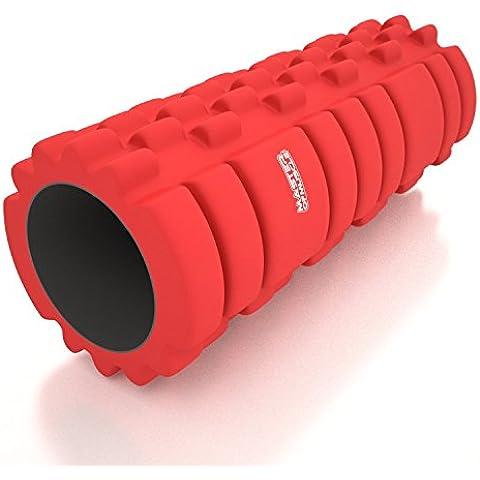 Foam Roller - Rullo Massaggiatore di Schiuma - Massaggio Miofasciale