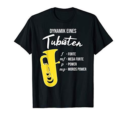 Dynamik eines Tubisten, lustiges Tuba T-Shirt, Geschenk