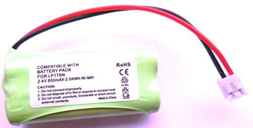battery V batería pour Vigilabebés numérique Comp COMPATIBLES avec Tomy TD300/TD350850mAh 2,4V