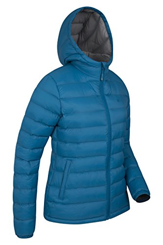 Mountain Warehouse Seasons Damen gefütterte jacke mantel Steppjacke mantel sportlich outdoor wandern warm Blau