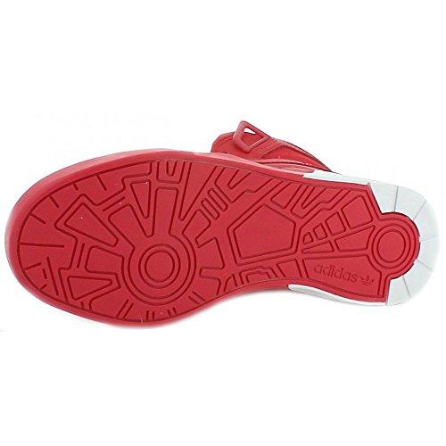 adidas Zestra Scarpe Sportive Pelle Rosse Rosso