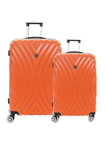 geographical-norway-set-de-2-valises-geographical-norway-sheraton-orange-taille-tu