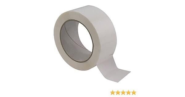 40/% de plus que les 66 m/ètres long ref UGRANB100-12 12 Rouleaux ruban adh/ésif emballage BLANC pp silencieux Rouleau de 48 mm x 100 m/ètres