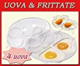 Sconosciuto NOVITA ': Behälter Eierkocher für Mikrowelle Omelettpfanne in Herzform
