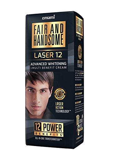Fair and Handsome Laser 12 Advanced Whitening and Multi Benefit Cream, 60g