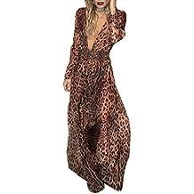 ad0808dfb183 Simple-Fashion Autunno Primavera Donne Vestito Sexy V Collo Manica Lunga  Vestiti da Cocktail Partito