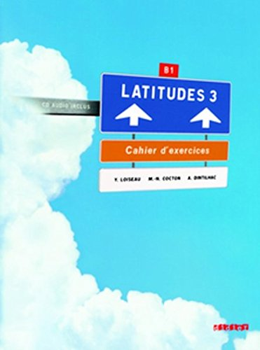 Latitudes niv.3 - Cahier + CD