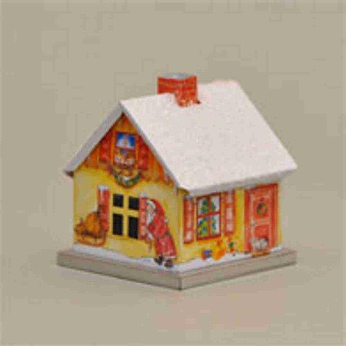 Räucherhaus Weihnachtshaus mit Weihnachtsmann