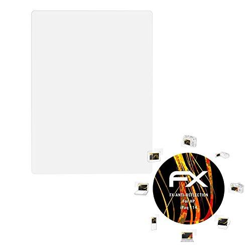 atFoliX Panzerfolie kompatibel mit HP iPaq 114 Schutzfolie, entspiegelnde und stoßdämpfende FX Folie (3X) -