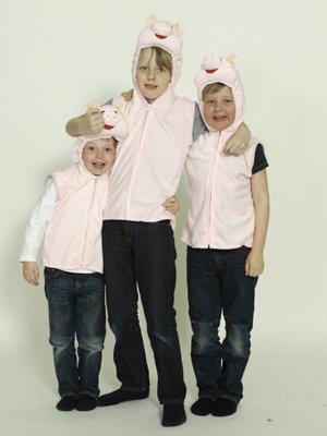 nisex S-M (Schweinekopf Kostüme)