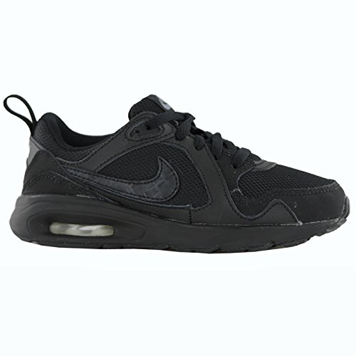 Nike Air Max Trax (Ps) Scarpe Sportive, Ragazzo Negro / Gris / Blanco (Black / Cool Grey-White)