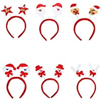 Plat Firm Festival Decor Weihnachten Kopfbedeckung Mixed Style Xmas Headbrand Hair Accessoire