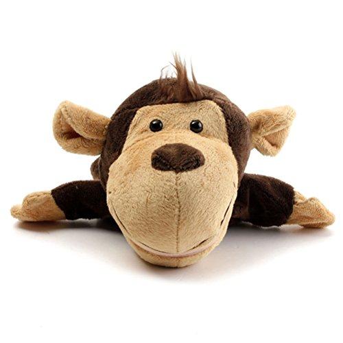 Juguete del Pelo de la Mano dise/ño del Dedo del Juguete de Peluche Juguete del Peluche del Animal Lindo del beb/é Trifycore Marioneta de Mano L y oacute