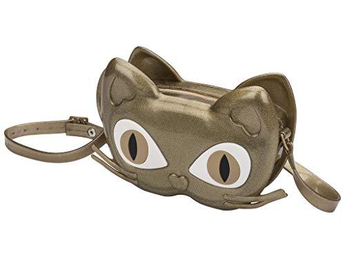 Mini Melissa - Mini borsa gatto Donna, oro (Golden Glow), Taglia unica