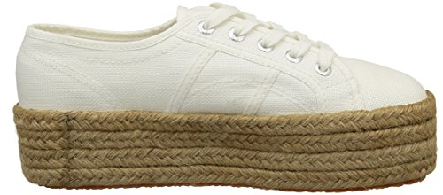 Superga 2790 Cotropew, Baskets Basses femme Blanc (901 White)