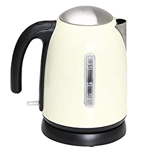 Quest 1.2L Low Wattage Stainless Steel Cordless Kettle