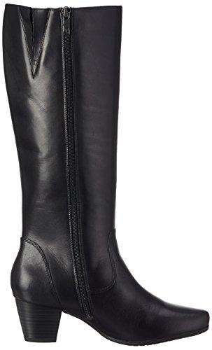 Caprice25504 - Stivali a gamba lunga, imbottitura leggera Donna Nero (BLACK 1)