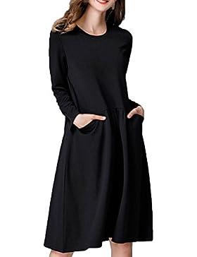 De Gran Tamaño Vestidos De Las Mujeres Las Mujeres Embarazadas Sueltos Añadir Fertilizantes Vestidos