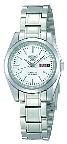 Seiko Reloj Analógico para Unisex Adultos de Automático con Correa en Acero Inoxidable SYMK13K1