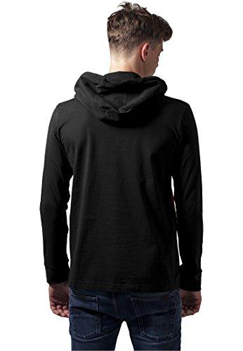 Urban Classics Kapuzenpullover Jersey ZiG ZaG - Regular Fit Black