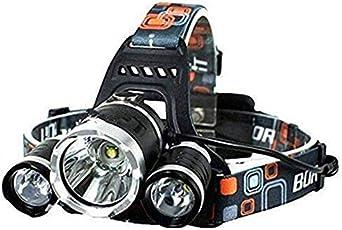 SLCSL Fahrradscheinwerfer, 10500 Lumen 7 LED Fahrradbeleuchtung, Wasserdichte Mountainbike Scheinwerfer, 96000mAh Akku, Ladegerät