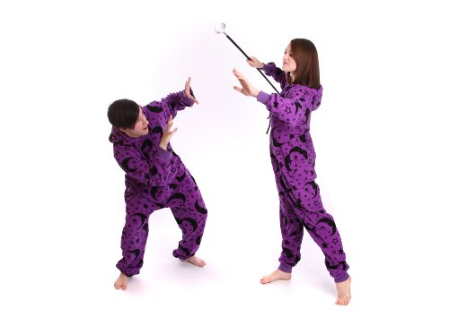 FUNZEE-Wizard-Adult-Onesie-one-piece-sleepsuit-pyjamas-or-allinone-romper-suit-Babygrow-Sizes-Petite-to-XXL-Size-by-Height