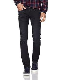 LP Jeans Men's Solid Slim Fit Cotton Formal Trousers