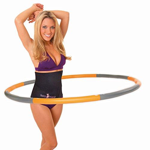 Hoopomania Weight Hoop, Hula Hoop mit Schaumstoffüberzug 1,5kg (Zieht Box Kleine Und Knöpfe)