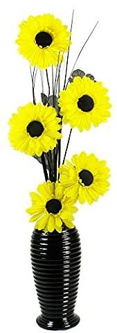 Flourish 814 Vase with 5-Head Gerbera ,