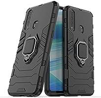 Spazy Case Vivo U20 / Y19 Dual Layer Armor Defender Full Protective Back Case Cover Designed for Vivo U20 / Y19 - Black