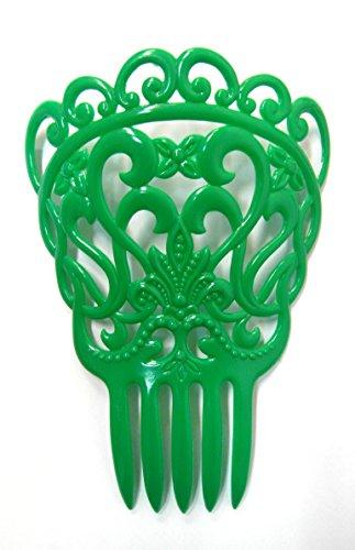 Sevilla Kostüm Flamenco - Haarkamm Sevilla grün