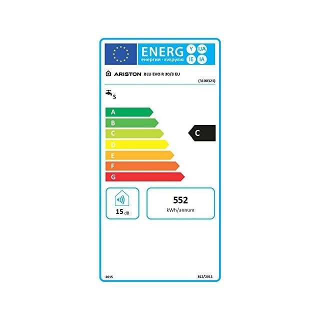 30 litres Cod/ 3100321 30 litres Cod3100321 normes UE Ariston Chauffe-eau /é lectrique Blu EVO/ R sous /é vier