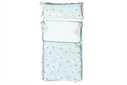 Burrito Blanco - Saco Nórdico 149 Azul de cama de 90x190/200 cm