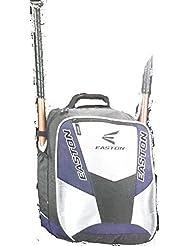 Easton Rampage Back Pack Bat Bag, Black/Silver by Easton