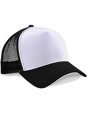 Beechfield Gorra unisex B640.Blk-Whi, color negro, talla única