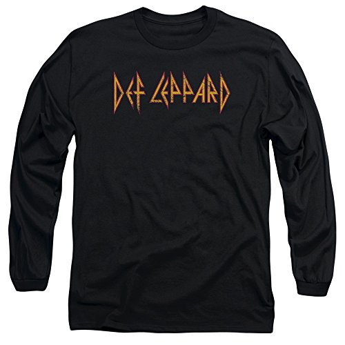 Def Leppard Men's Long Sleeve T-Shirt, XX-Large