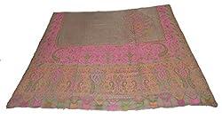 Sofias Cashmere Kani Jamavar Replica Large Shawl,Size-100 cms x 200 cms,Pink ...(New)