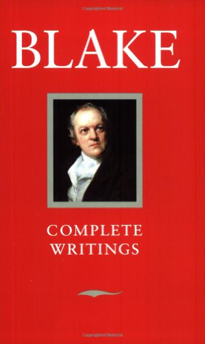 Blake Complete Writings With Variant Readings (Oxford Standard Authors Series) -