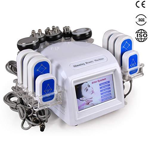 Multifunktionaler 6 in 1 Hohlraumbildungs-Laser, der Maschine mit Vakuummassage Rf-Haut abnimmt, die Dioden-Lipolaser fette brennende Salon-Ausrüstung festzieht