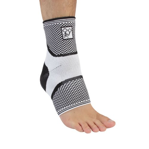 PhysioRoom Elite Snug Series Ankle Support - Ultra Comfortable Ankle Wrap